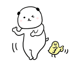 Rice cake dog sticker sticker #747860