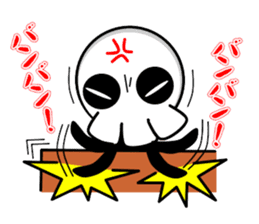 Ghost and Skull sticker #748018