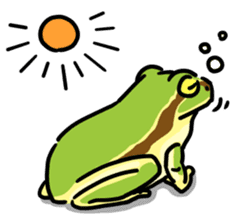Frogs of the world sticker #748423