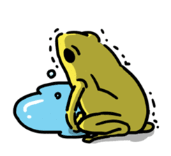 Frogs of the world sticker #748439