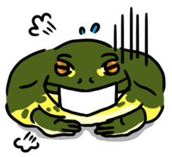 Frogs of the world sticker #748447