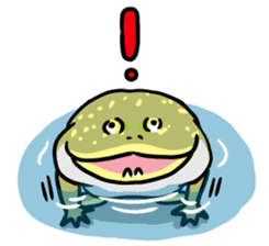 Frogs of the world sticker #748454