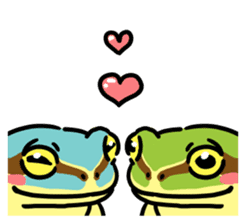 Frogs of the world sticker #748462