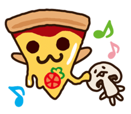 MUSH&PIZZA sticker #749810