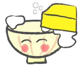 Chawan-kun sticker #749851