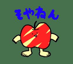apple man sticker #750663