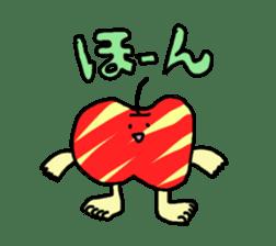 apple man sticker #750664