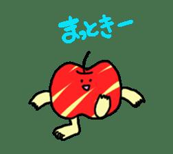 apple man sticker #750667