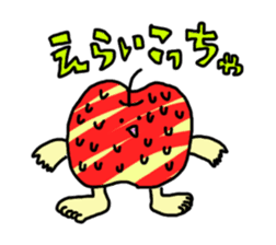 apple man sticker #750670