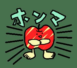 apple man sticker #750672