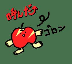 apple man sticker #750673