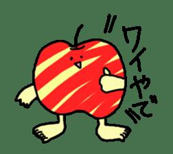 apple man sticker #750674