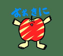 apple man sticker #750676