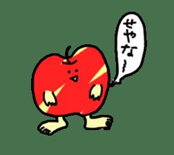 apple man sticker #750677