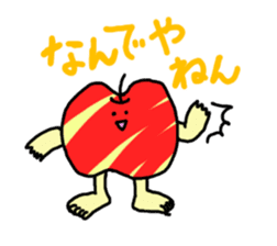apple man sticker #750678