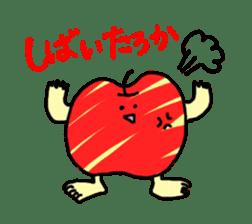 apple man sticker #750680