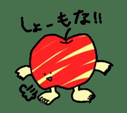 apple man sticker #750682