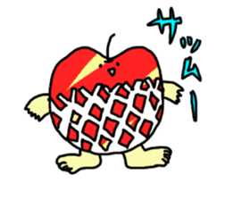 apple man sticker #750685