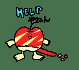apple man sticker #750687