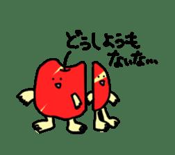 apple man sticker #750690