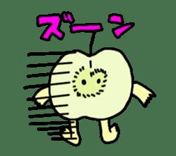 apple man sticker #750695