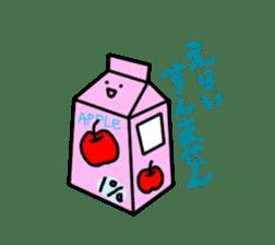 apple man sticker #750696