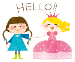 Lovely friends Sarah & Sophie sticker #751879