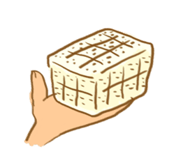 tofu mental sticker #752519