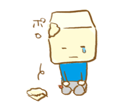 tofu mental sticker #752536
