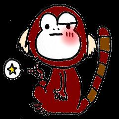 Together Monkey Sticker