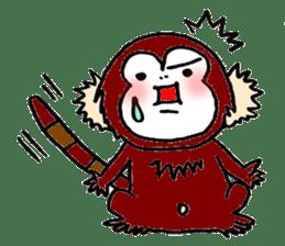 Together Monkey Sticker sticker #753680