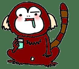 Together Monkey Sticker sticker #753688