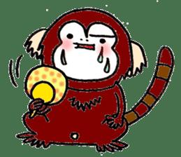 Together Monkey Sticker sticker #753692