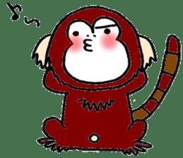 Together Monkey Sticker sticker #753698