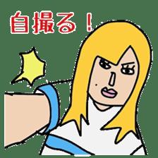 Female college student M sticker #753751