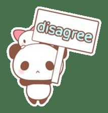 Bear, rabbit, panda, cat sticker #753946