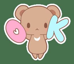 Bear, rabbit, panda, cat sticker #753947