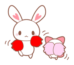 Bear, rabbit, panda, cat sticker #753954