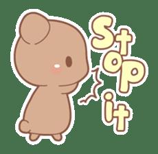Bear, rabbit, panda, cat sticker #753955