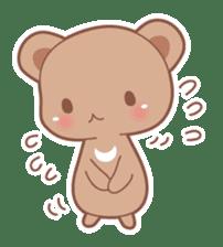 Bear, rabbit, panda, cat sticker #753966