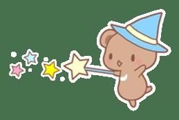 Bear, rabbit, panda, cat sticker #753974