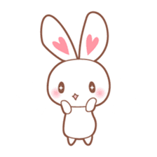 Bear, rabbit, panda, cat sticker #753975