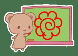 Bear, rabbit, panda, cat sticker #753976