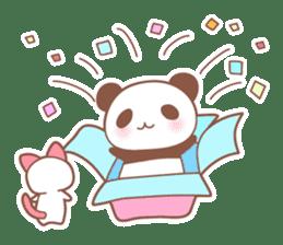 Bear, rabbit, panda, cat sticker #753982
