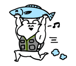 I am bunkichi!!~ fishing ver~ sticker #754703