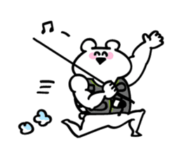 I am bunkichi!!~ fishing ver~ sticker #754706