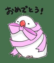 Java sparrow Stickers sticker #754942