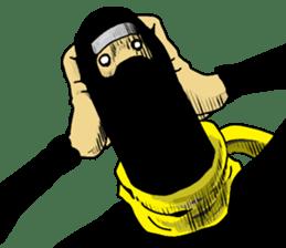 comic ninja sticker #755224