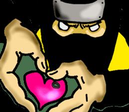 comic ninja sticker #755225