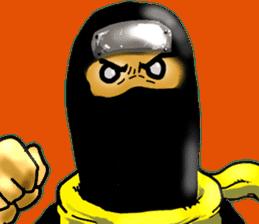 comic ninja sticker #755226